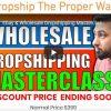 Ebay & Wholesale Dropshipping Masterclass