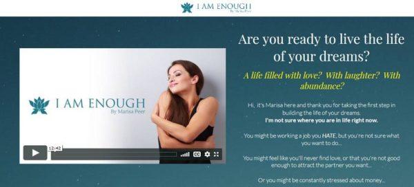 Marisa Peer – I Am Enough