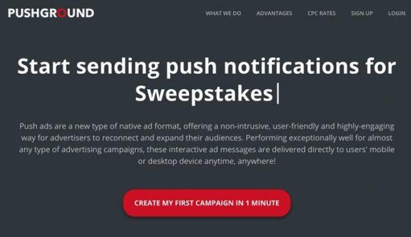 Nick Lenihan - Push Notification Ads + Sweepstakes Mastery