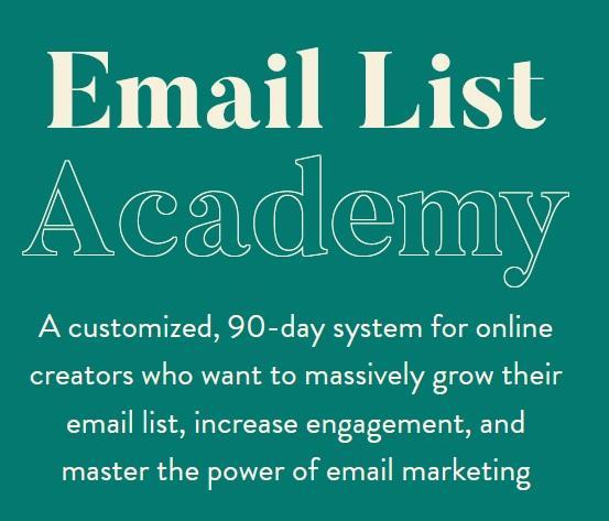 melissa-griffin-email-list-academy