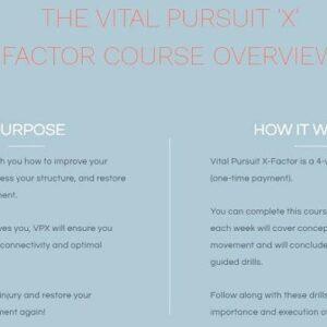 the-vital-pursuit-x-factor-course